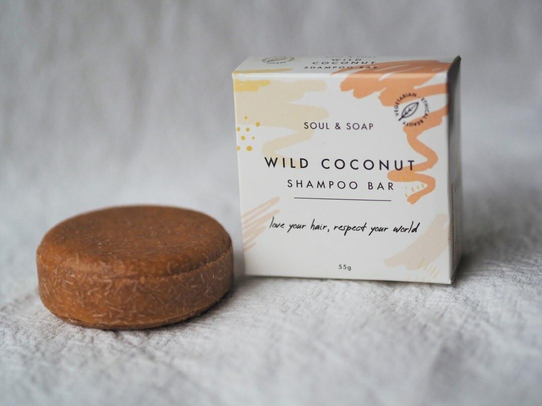 Wild Coconut Shampoo and Conditioner bar 55g