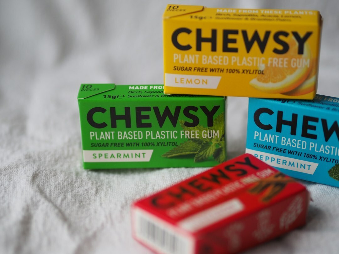 Chewsy Plastic free Chewing Gum