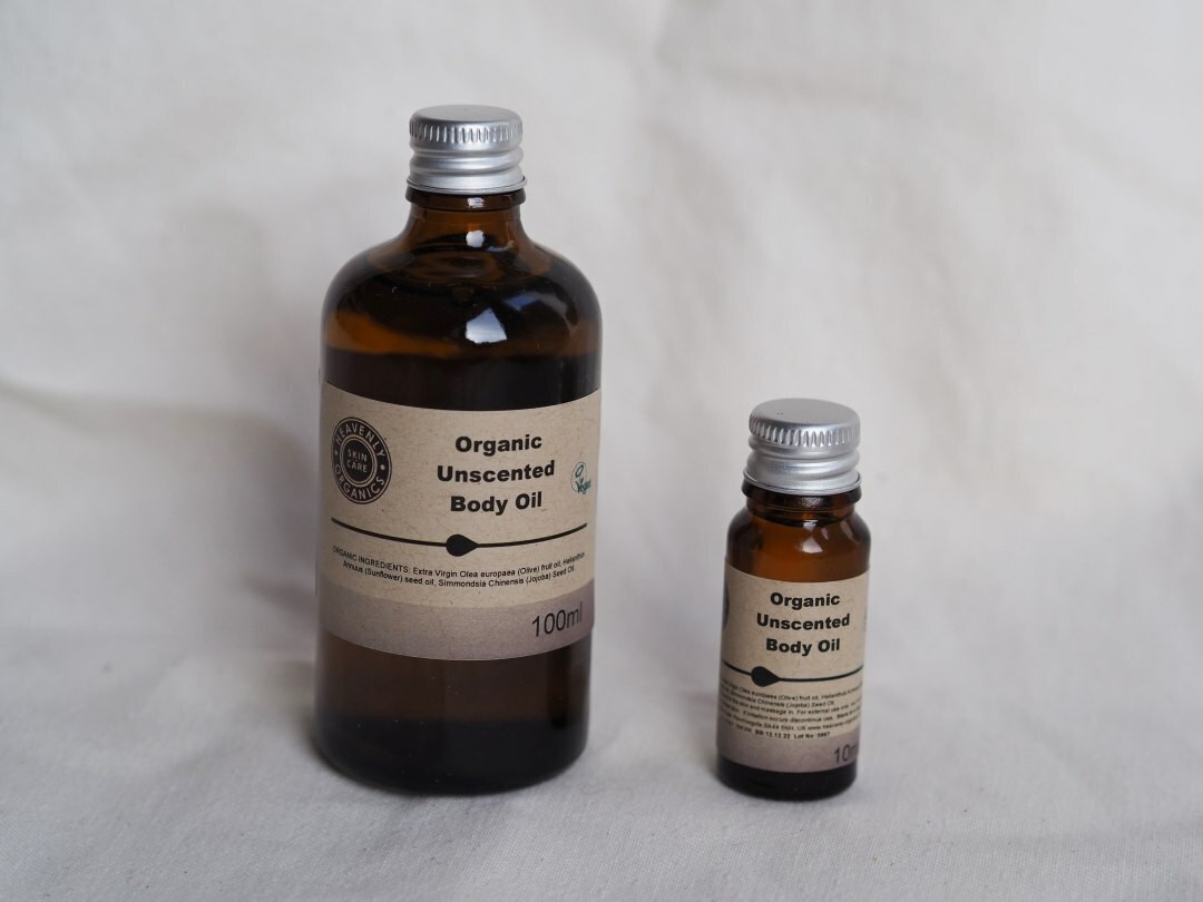 Organic Body, Massage or Carrier Oil