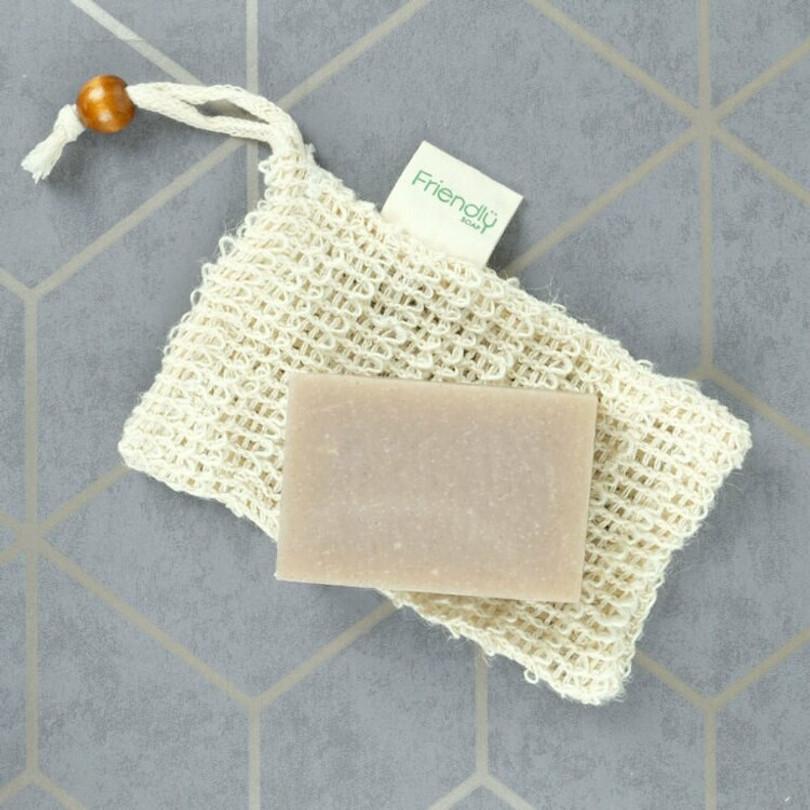 Organic Sisal Hemp Mesh Soap Saver Pouch