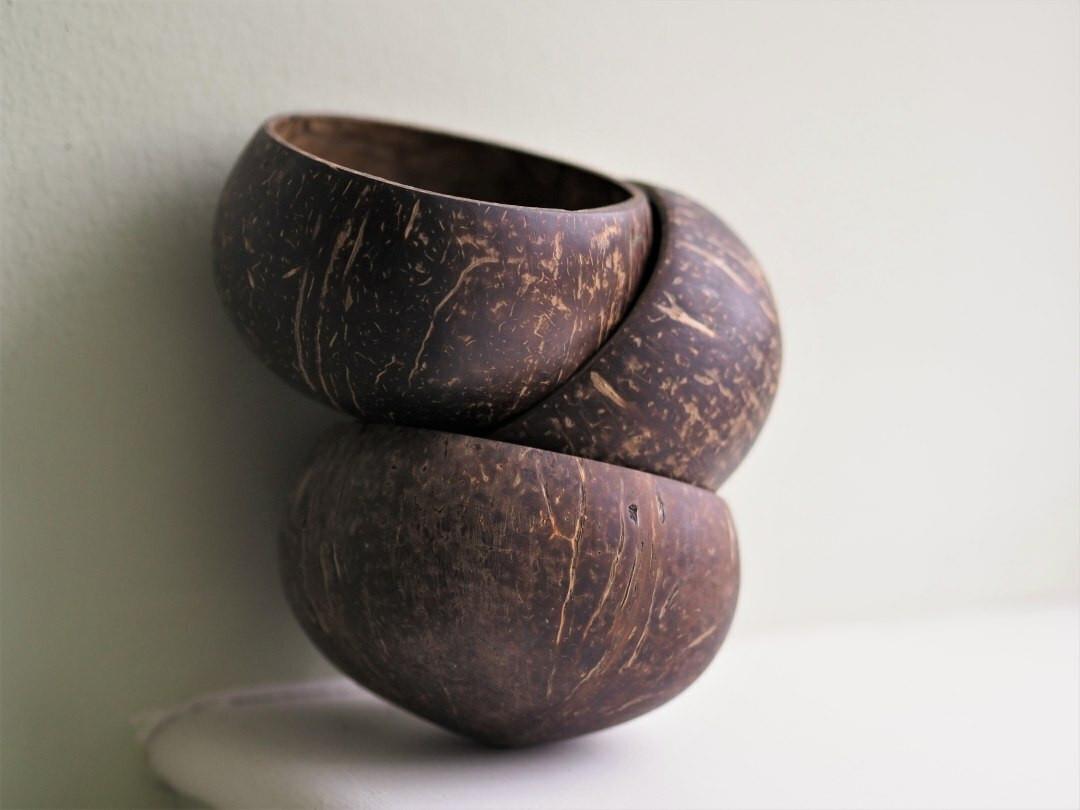 Natural Coconut bowl - Medium