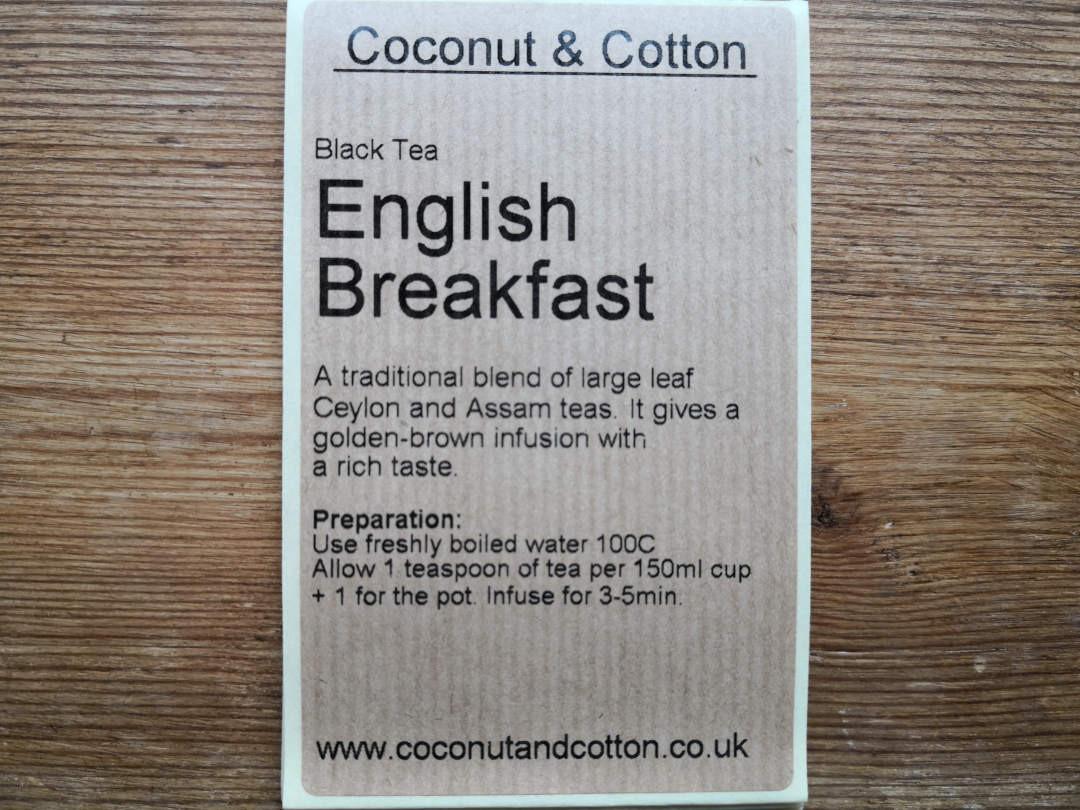 English Breakfast loose tea - 100g