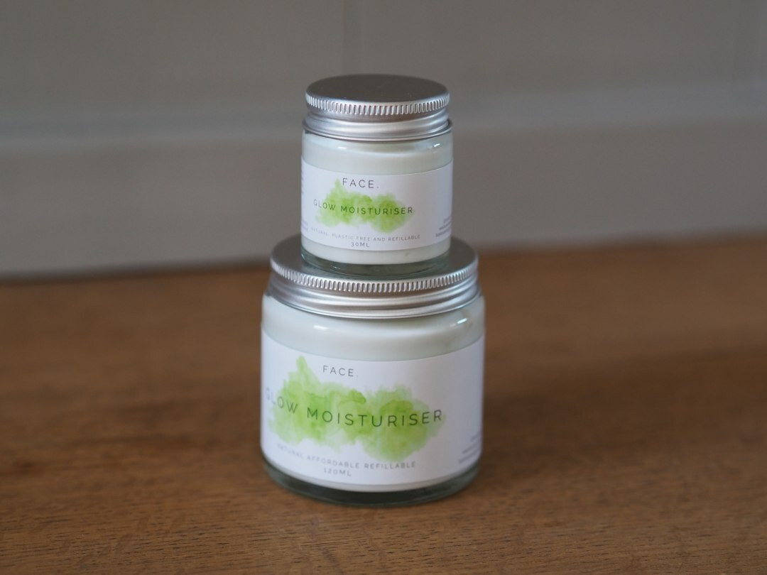 Glow brightening facial moisturiser 120ml