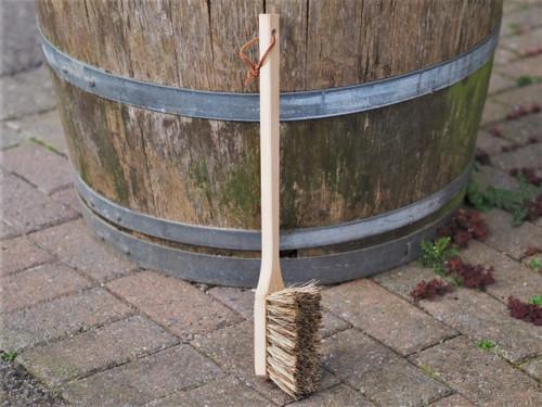 Long handled boot / garden brush