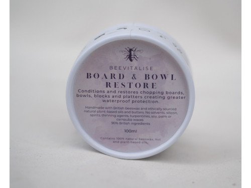 Wooden board and bowl restore balm