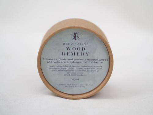 Wood remedy beeswax balm