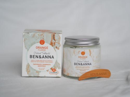 Ben & Anna Orange Fluoride Toothpaste 100ml