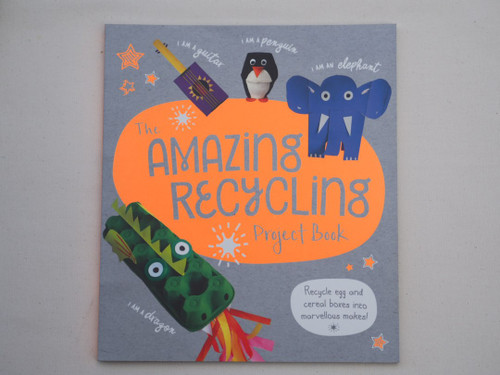 Brilliant recycling project activity book