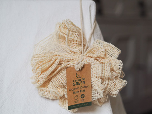 Organic Cotton Bath Puff