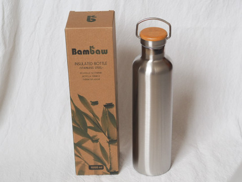 Bambaw insulated bottle 1L XL