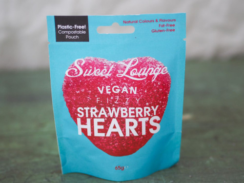 Natural vegan fizzy sweet pouches
