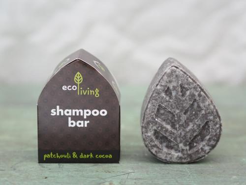 Ecoliving shampoo bar 85g - Patchouli & Cocoa