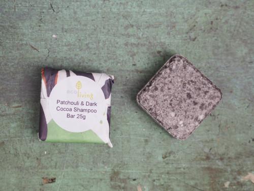 Ecoliving travel sized shampoo bar sample 25g