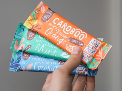 Caroboo Vegan Carob Choco Bars 35g