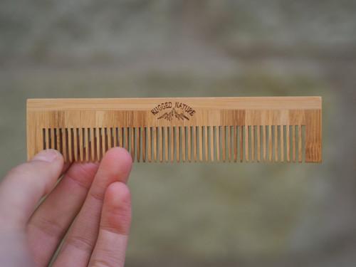 Bamboo Fine Hair Comb