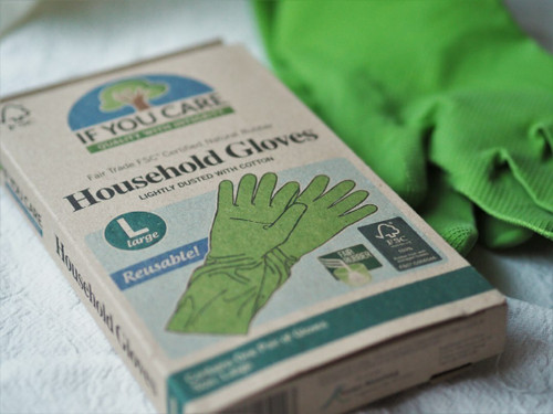 If You Care Rubber Household Gloves - Large