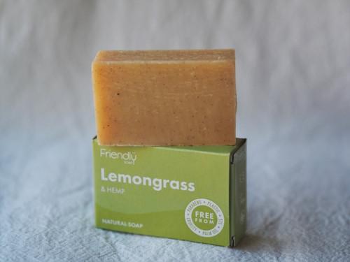 Lemongrass & Hemp Friendly soap 95g