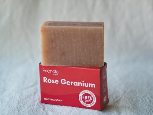 Rose Geranium Friendly soap 95g