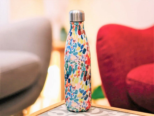 Qwetch insulated bottle 500ml Arty Collection Pattern