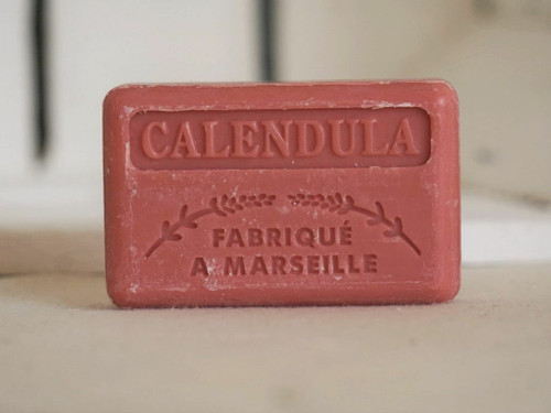 Calendula (Marigold) french Marseille soap 125g