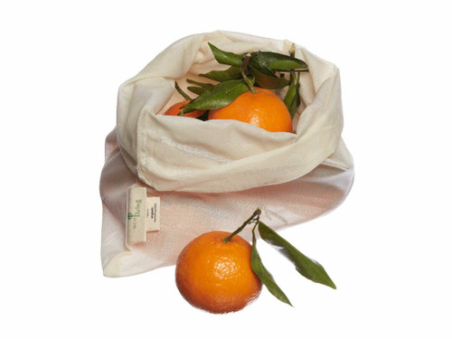 Organic lightweight cotton produce bag 17g