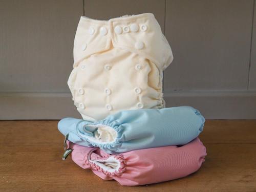 Little Lamb One size reusable pocket nappy