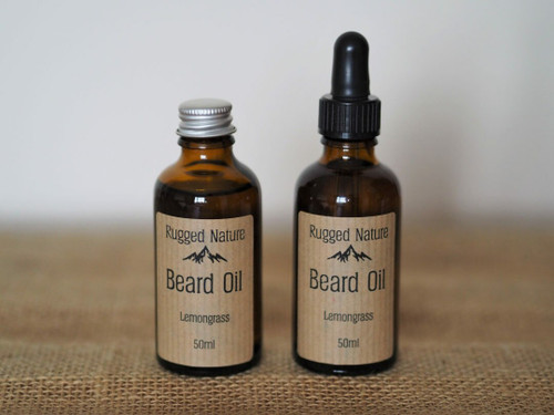 Rugged Nature Beard Oil - Lemongrass 50ml