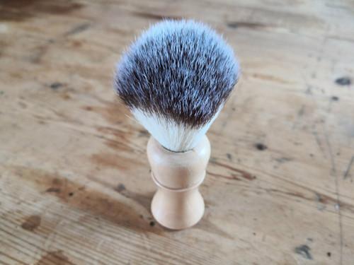 Wooden shaving brush vegan Bristles