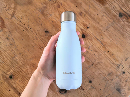 Qwetch insulated bottle 260ml - Pale Blue