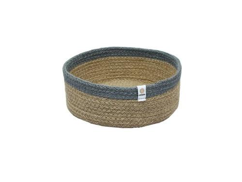 Jute Medium basket - Grey