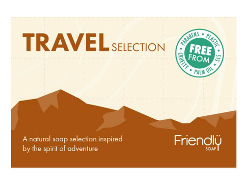 Friendly Soap Travel Selection Pack