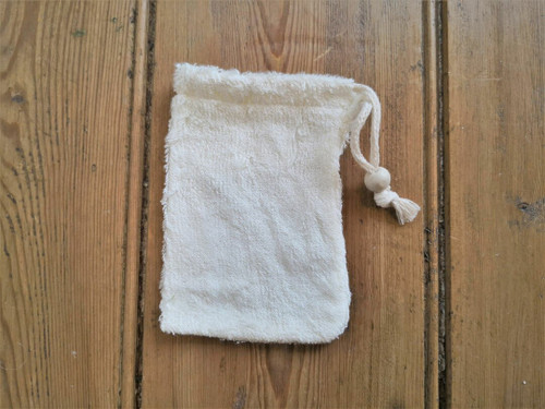Super soft bamboo soap pouch