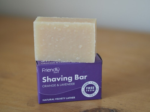 Orange & Lavender Friendly Shaving Soap 95g