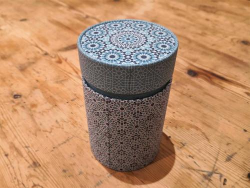 Blue mosaic tea caddy 150g