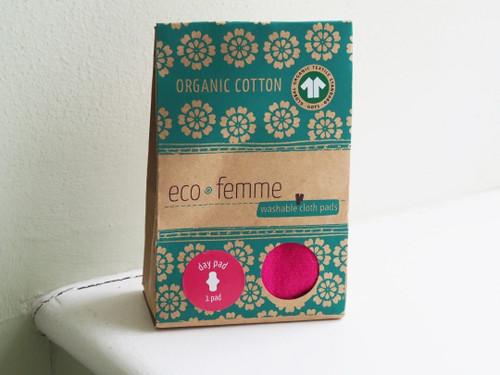 Eco femme organic cotton sanitary day pad
