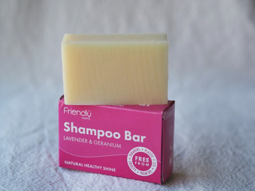 Lavender & Geranium Friendly Shampoo Bar 95g