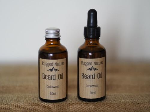 Rugged Nature Beard Oil - Cedarwood 50ml