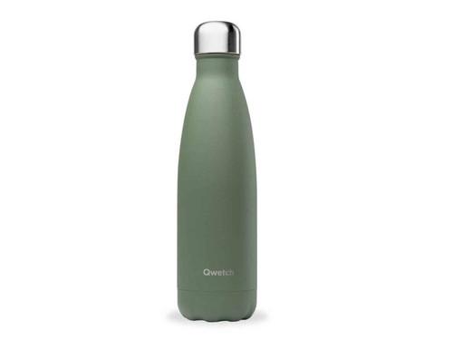 Qwetch insulated bottle 500ml Granite Khaki