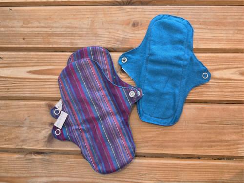 Eco femme VIBRANT organic cotton 3 x pantyliners