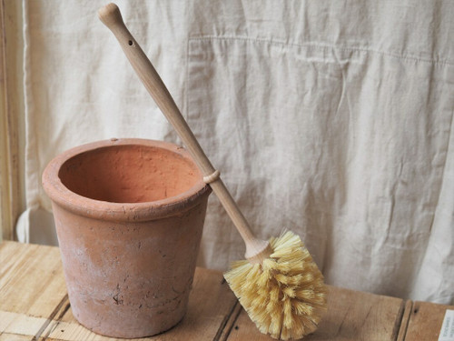 Wooden Toilet Brush with Tampico Fibre