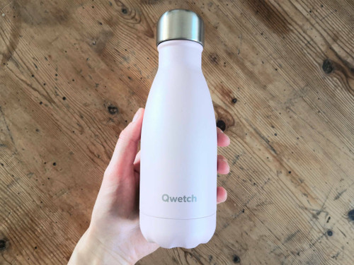 Qwetch insulated bottle 260ml - Pale Pink