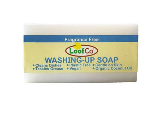 LoofCo Solid Washing Up Soap 100g - Unscented