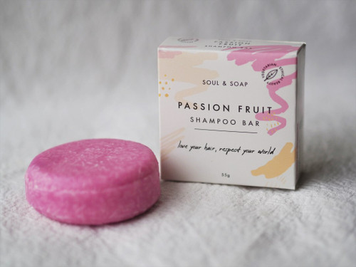 Passion Fruit Shampoo and Conditioner bar 55g