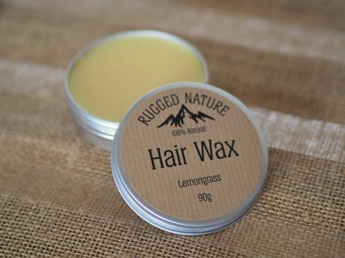Rugged Nature Hair Wax - Lemongrass 90g