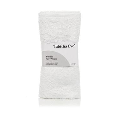 Tabitha Eve bamboo terry wipes x 5