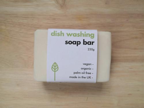 Solid washing up soap bar 230g