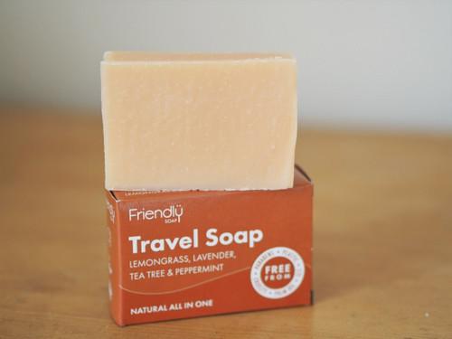 Shaving, shampoo & body Friendly travel bar 95g