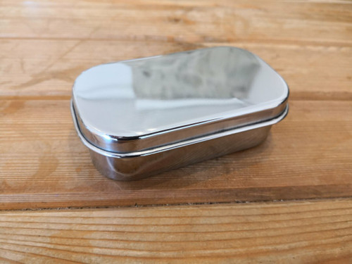 Stainless steel Rectangular snack container