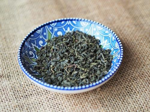 Organic China Gunpowder Green loose tea - 100g