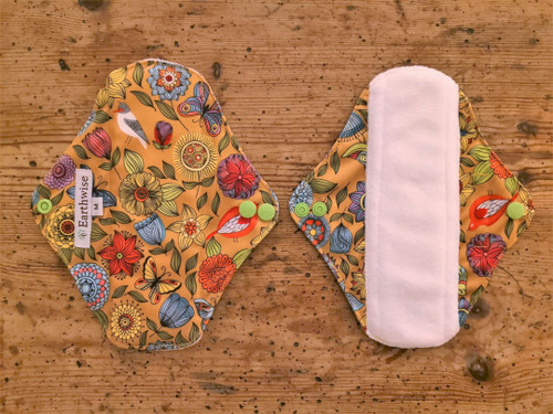 Earthwise Exotic reusable sanitary pads